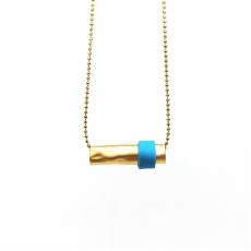 Gold Minimal - Altın Kaplama İnce Zincir - Minimal Kolye