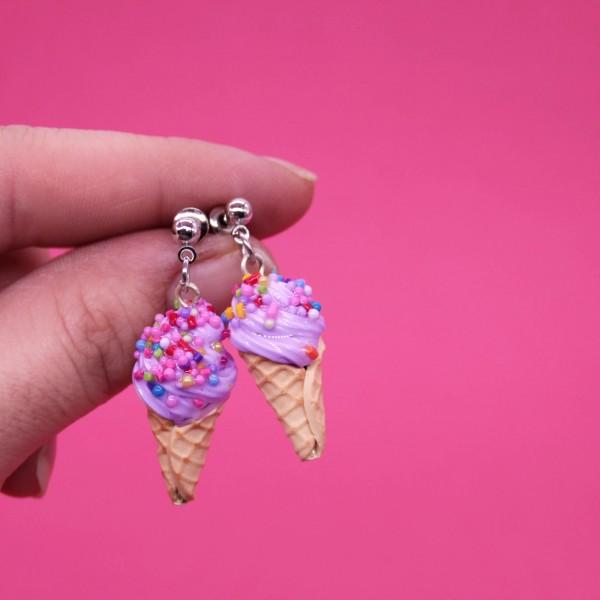 Dondurma Küpe