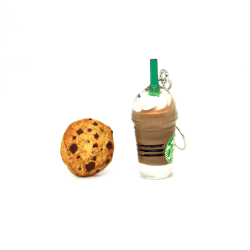 Starbucks & Cookie Küpe