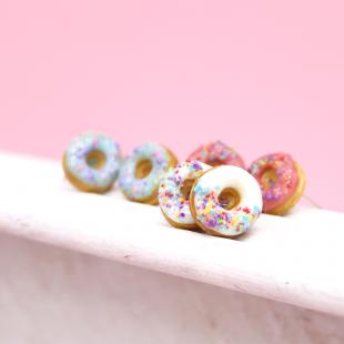 Tatlı Donut Küpe