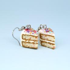 Vanilyalı Pasta Küpe