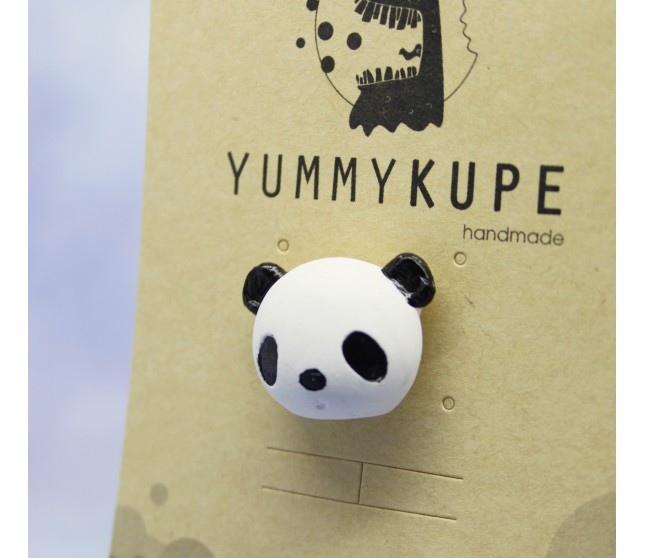 Panda Yaka İğnesi