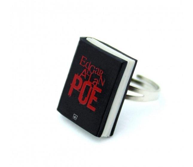 Edgar Allan Poe Kitap Yüzük