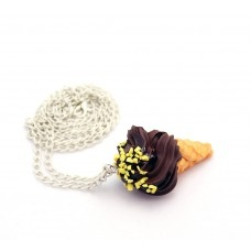 Dondurma Kolye Çikolatalı