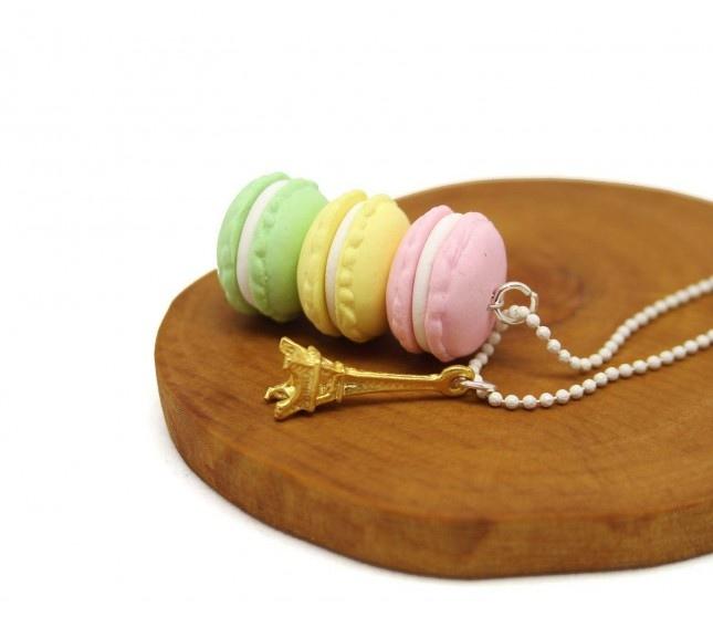 Macaron Paris Kolye