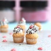 Cupcake Küpe