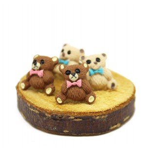 Teddy Bear Ayıcık Küpe