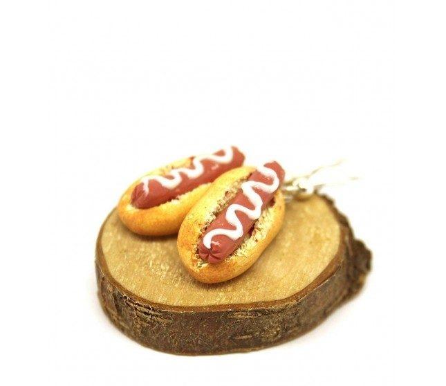 Sosisli Sandviç Küpe