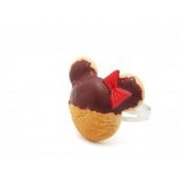 Minnie Mouse Kurabiye Yüzük